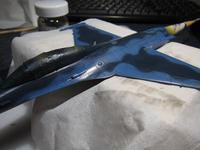 ハセガワ 1/72 三菱F-2B 製作中 (15) - DNF