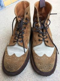 【Tricker's】靴の丸洗いにオススメ - シューケアマイスター靴磨き工房 銀座三越店