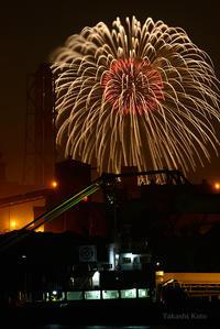 スパークリング花火2017 - 僕と埠頭と工場で