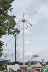 デュッセルドルフのお祭り「Kirmes am Rhein」に行ってきました☆ - ドイツより、素敵なものに囲まれて②