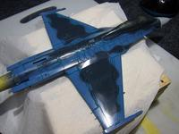 ハセガワ 1/72 三菱F-2B 製作中 (16) - DNF