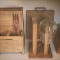 オールドチークの台所道具 - 雑貨店PiPPi
