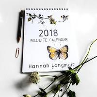 2018年カレンダーの予約受付を開始しました! - ブルーベルの森-ブログ-英国カントリーサイドのライフスタイルをつたえる