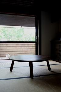 座卓~ウォールナット・・・そしてふくれ菓子♪ -  日々-yori