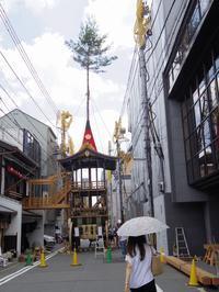 祇園祭の後祭がだんだんいい感じに。そういいながら、今日は福知山に行ってきた - 京都在住フリーライターの日常