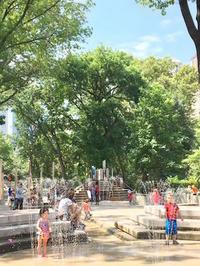 真夏日のセントラルパーク - NY/Brooklynの空の下