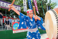 小倉祇園太鼓祭り〜藤江さんの長老模範打ち〜 - ライカとボクと、時々、ニコン。