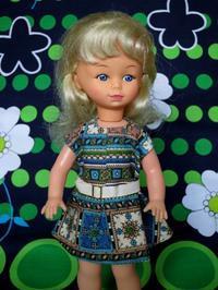 モッズ・ファッションな幼児人形 -  Der Liebling ~蚤の市フリークの雑貨手帖2冊目~