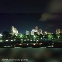 「臨海パーク夜さんぽ」 - こころ絵日記 Vol.1