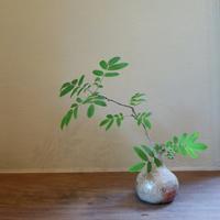 涼やかに緑を生ける - g's style day by day ー京都嵐山から、季節を楽しむ日々をお届けしますー
