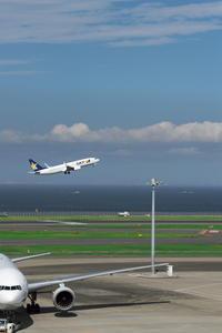 HND - 184 - fun time (飛行機と空)