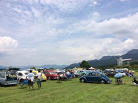 行って来ました、VW caravan in 南阿蘇 - HOMEY RACING GARAGE