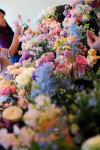 8月3日および10日夏の会場装花特別レッスンのご案内 - 一会 ウエディングの花