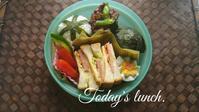 今日の塾弁当 - 料理研究家ブログ行長万里  日本全国 美味しい話
