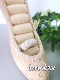 夏に身に付けたい、ホワイトボリュームリング! - Smile Decoway!