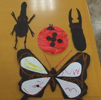 7月☆幼児クラスの作品☆虫づくり&砂絵でカニ☆ - 絵画教室アトリえをかく