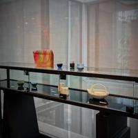 加藤委ceramic・張慶南glass 二人展『静寂と躍動』   開催中です - 工房IKUKOの日々