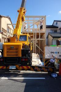 建て方@上賀茂 - 奥野八十八の建築と意見