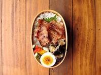 7/24(月)豚バラ丼弁当 - おひとりさまの食卓plus