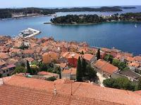 ロヴィニ、上からの景色と海 - うつわ愛好家 ふみの のブログ