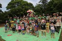 大成ゼミ⑩「ハッピーカミレオン」当日の活動 - アートパークプロジェクト
