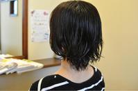 伸びかけで重たくなった髪をスッキリ前下がりボブ&カラーで明るい白髪染め - 観音寺市 美容室 acchaの独り言