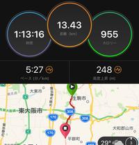 本日の練習 生駒ボルダー - いつの日か村岡ダブルフル100kmでサブ10目指す勇者の記録
