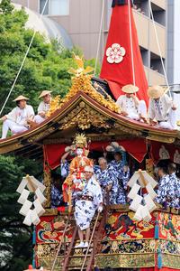 祇園祭2017長刀鉾新町御池にて - 花景色-K.W.C. PhotoBlog