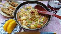 トマトマーボー麺 - 「おやじの手作りランチ」~休日限定~