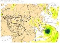台風5号、8月7日(月)、関東地方直撃 !! - 沖縄の風