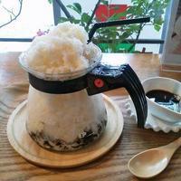 香椎「珈琲豆屋 Nanの木」 - 福岡の抹茶かき氷