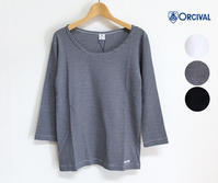 ORCIVAL 新作 60/2 CIRCULAR RIB カットソー 入荷♪ - a piece of Mix.