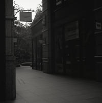 早朝の街角 - 心のカメラ   more tomorrow than today ...