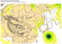 台風5号、8月7日早朝、大阪直撃 !! - 沖縄の風