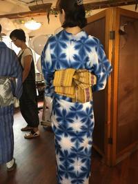 kimonoクローバー@代官山無事終了!! - 着物スタイリスト  山崎佳子 ブログ