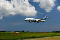 2017宮古空港 その3 ANA B787-8のアプローチ - 南の島の飛行機日記