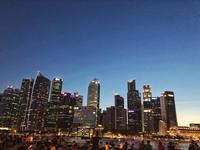 花火とベイサンズの華やかなショー「スペクトラ」へ - 日日是好日 in Singapore