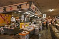 鳥取県境港市。「水産物直売センター」 - 風じゃ~