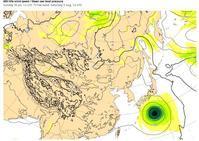 台風5号、7日~8日、関東地方上陸&北上。 - 沖縄の風