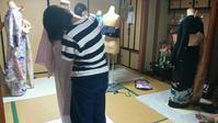 おうちレッスンのお写真をパチリ♪ - 佐賀県鳥栖市 向日葵和装☆着付け教室☆ 出張着付