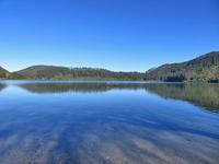 冬のブルーレイク散歩と動画、月がいっぱい - いい旅・夢Kiwi スカイキウィの夢日記