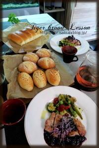 2種類のダッチブレッド - KuriSalo 天然酵母ちいさなパン教室と日々の暮らしの事