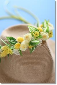 花かんむり*南の島へ行く♪ - Flower letters