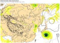 台風5号、6日(日)夜、宮崎直撃? - 沖縄の風