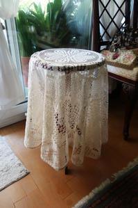 円形レースティー用テーブルクロス211 - スペイン・バルセロナ・アンティーク gyu's shop