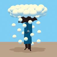 晴れ、ところにより雲。 - Yenpitsu Nemoto  portfolio    ネモト円筆作品集