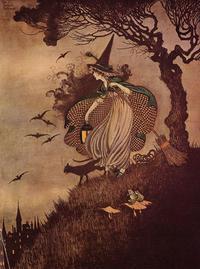 イダ・レントール・アウスウェイト画の魔女コレクション - Books