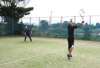 軽井沢?でテニス - 東金、折々の風景