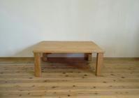 山桜のローテーブル - woodworks 季の木  日々を愉しむ無垢の家具と小物