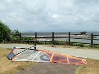 海中道路と瀬長島。 - 沖縄の風